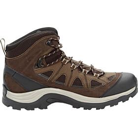 Salomon Authentic LTR GTX Shoes Herr black coffee/chocolate brown/vintage